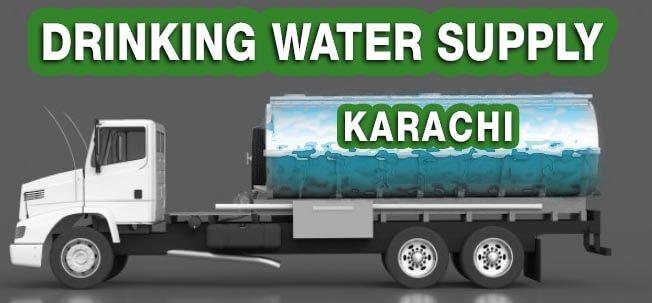 Afnan Karachi Drinking Water Tanker Supply.Urgent Service
