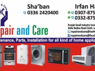 Repair & Care.Local And Imported Home Appliances Maintenance Center