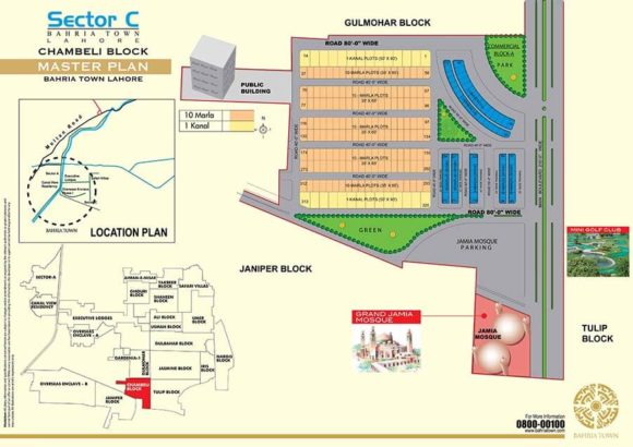 Bahria Town Lahore.Commercial / Residential Plots Sale Purchase