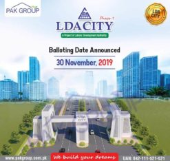 LDA City phase 1.5/10 Marla/1 Kanal Limited Plots Available.Best Investment