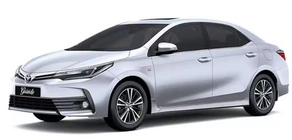 Old And New Toyota Corolla Gli On Easy Installment.Without Bank Statement