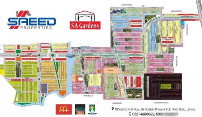 SA Garden Phase 2.itna Susta Plot Phir Nahe Milega.Plots For Sale