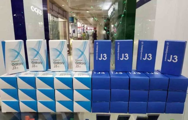 Samsung J3 2017 With Local Box Charger.Wholesale Rate