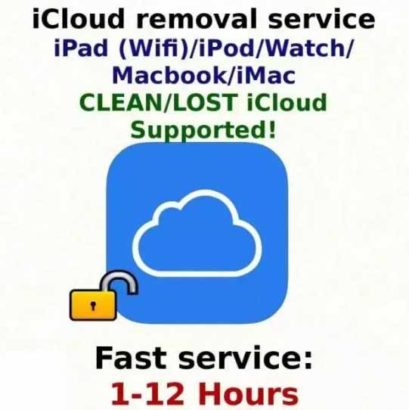 Unlocking iPhone iCloud Carrier.Any Model