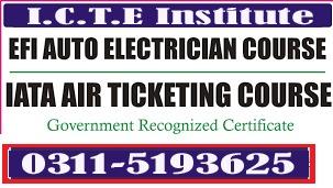 Advance EFI Auto car Electrician (theory+practical) full Course in Rawalpindi