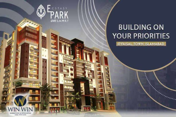 1 | 2 | 3 & 4 Beds Luxury Apartments.ECSTASY PARK Near Islamabad Airport