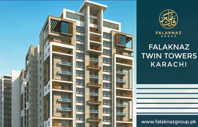 Falaknaz Twin Towers.2 Fourteen Storey Residential Towers For