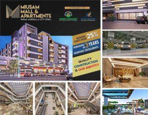 Miusam Mall & Apartments Faisal Margalla City.Easy Installment Plan