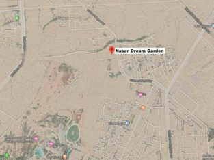 Nasar Dream Garden.120 sq Yards Plots.Near Gulshan e Maymar