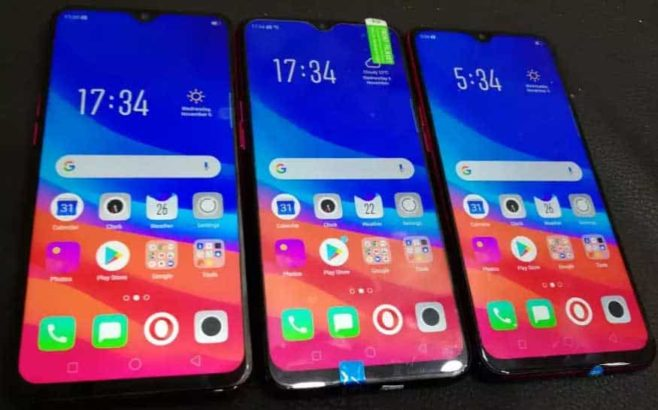 Oppo f9 Dual SIM fingerprint scanner face unlock.Free home delivery in Lahore