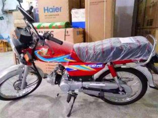 We Deal in All Brands Of Bikes.Brand New Honda 70 On Easy Installments
