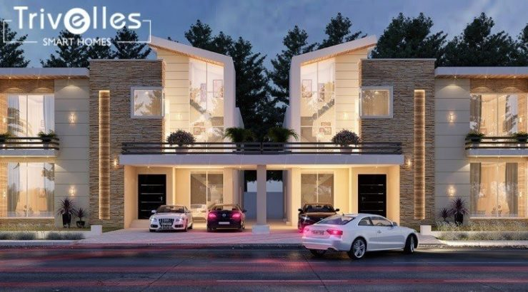 5 Marla Luxury Villas on Installments in Capital Smart City Islamabad