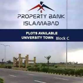 University Town Islamabad.5 Marla plots available on Prime Location