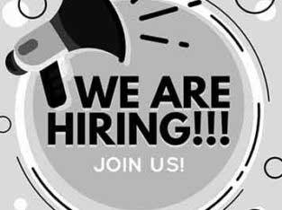 HIRING.Computer Operator, supervisor & Marketing Staff required