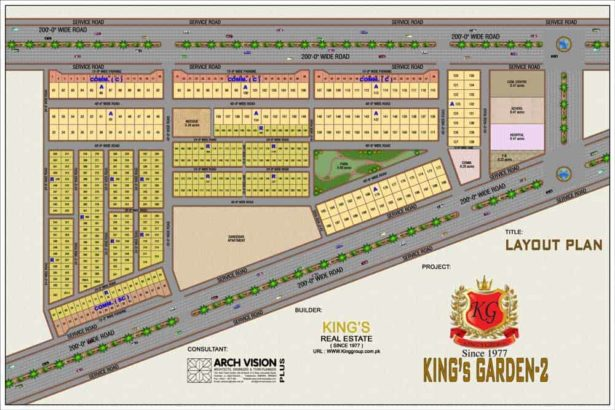 6 Rooms Super Luxury Bungalows.KING'S GARDEN Phase 2