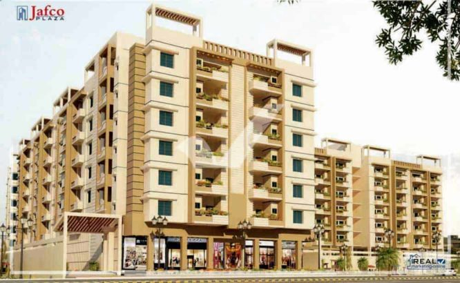 2 | 3 | 4 & 5 Rooms Apartments & Shops on Prime Location.Jafco Plaza