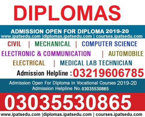 ADMISSION OPEN DAE Telecom,Electronics,Electrical,Civil,Mechanical