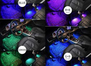 Fancy Car Lights Remote Control Multi Colour