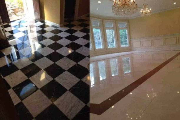 New & Old MARBLE/CHIPS Floor Polishing Services