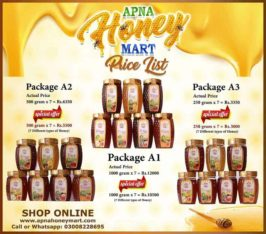100% Pure Organic Honey.Delivered To your Doorstep All Pakistan