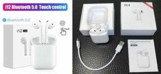 Airpods TWS.Touch Sensor + Ear Sensor & 2 Days Battery Timing