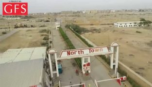 Sustay Plots Golden Location.North Town Residency