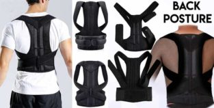 Back Pain Relief.Brace Belt Posture Corrector Delivery All Pakistan