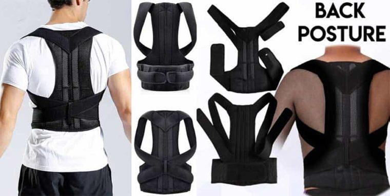 Back Pain Relief.Brace Belt Posture Corrector Delivery All Pakistan