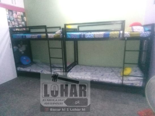 Iron Bunk Bed (twin / double decker bed)