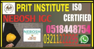 NEBOSH IG NEW COURSE IN PAKISTAN