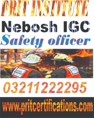 New Nebosh Ig Uk Course in islamabad