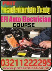 EFI Auto Electrician Course in Pakistan