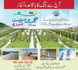 Gulistan E Sarmast Hyderabad Phase 4.Plots Booking Start