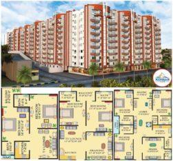 Kohsar Icon Hyderabad.3/4/5 Rooms Super Executive Apartment