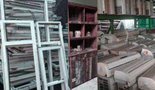 Used AC / Windows/ Cabinets.Scrap Mall Humay dain