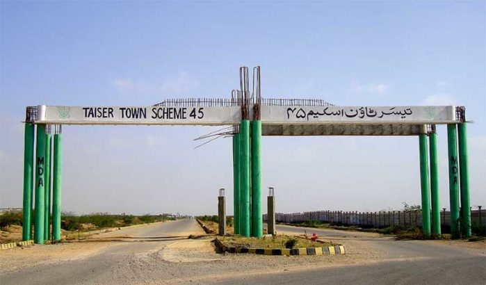 90 sq yard Leased Plots in Scheme 45 Karachi