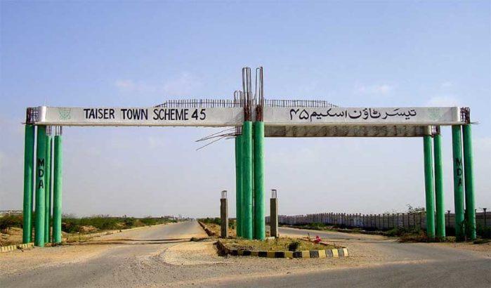 90 sq yard Leased Plots in Scheme 45 Karachi