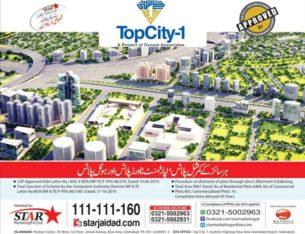 Commercial/Apartments Towers & Hotel Plots.TopCity-1