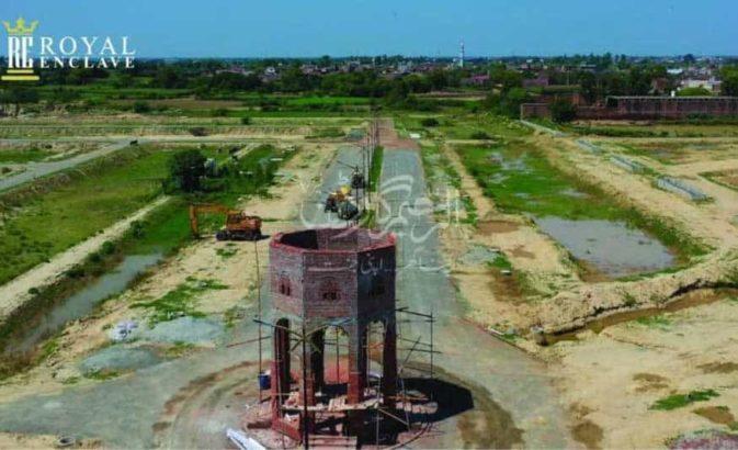 3 Marla Residential Plots.Al Raheem Garden Phase 5