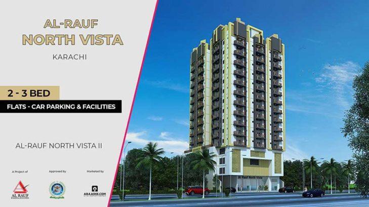 Al Rauf North Vista II.3/4/5 Rooms Luxury Apartments