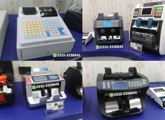 Fake Money Detector Machine.Cash Counting Machine.Binding Machine