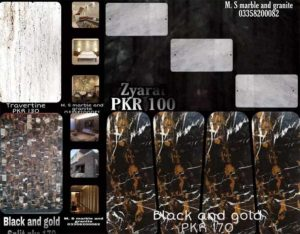 All kinds Of Marble & Granite Varieties Available