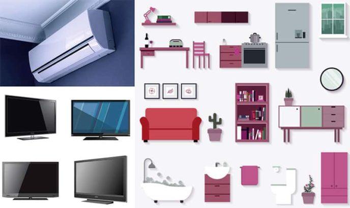 Sale Your Fridge   Window AC   Split AC   LED & Furniture