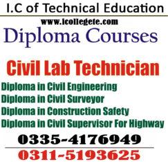 Civil Engineering Diploma Course in Lahore Okara