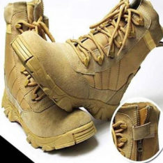 Army Boots Male High Top Design Tactical Boots Delta Swat Shoes