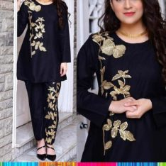 Stitched kurtis.Lollipop 2 piece suit