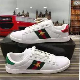 Gucci Unisex Sports Shoe – White