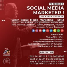 To Become A Social Media Marketer – 3D Educators