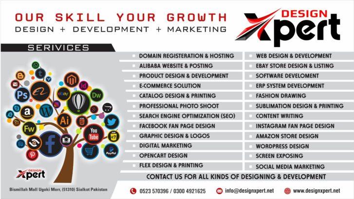 Design Xpert   Web Design & Development   Graphic Design   eCommerce   Logo