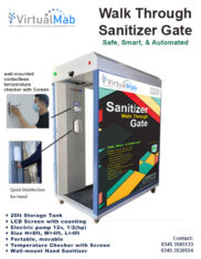 Auto Attendance, Disinfecting Unit, Sanitizer Gate for Schools, Offices.